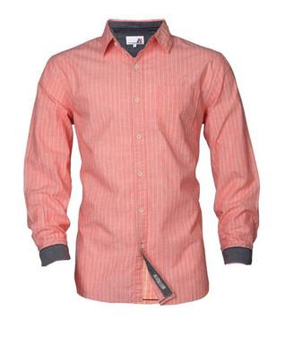 Full sleeve pink stripe shirt