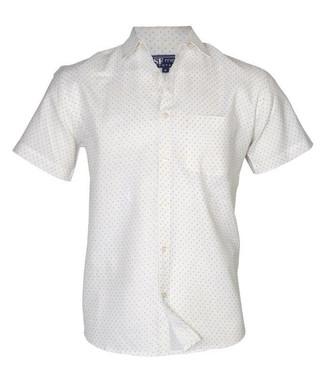 White Half Sleeves Shirt