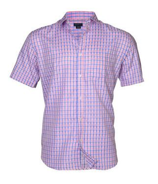 Half sleeve checkered shirt
