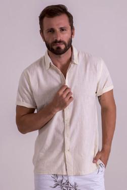 Halff sleeve off-white shirt