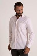 Plain white full sleeve shirt