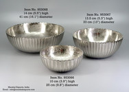 Ribbed Round Classic Bowls