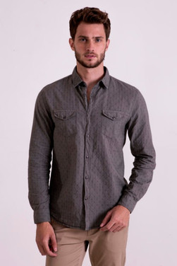 Full sleeve olice shirt
