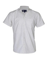Printed White half sleeve Shirt