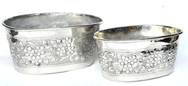 Oval shaped bowl set, 2 pcs