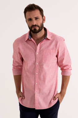 Full sleeve pink shirt