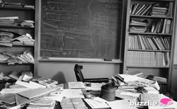 Einstein's Desk 1955