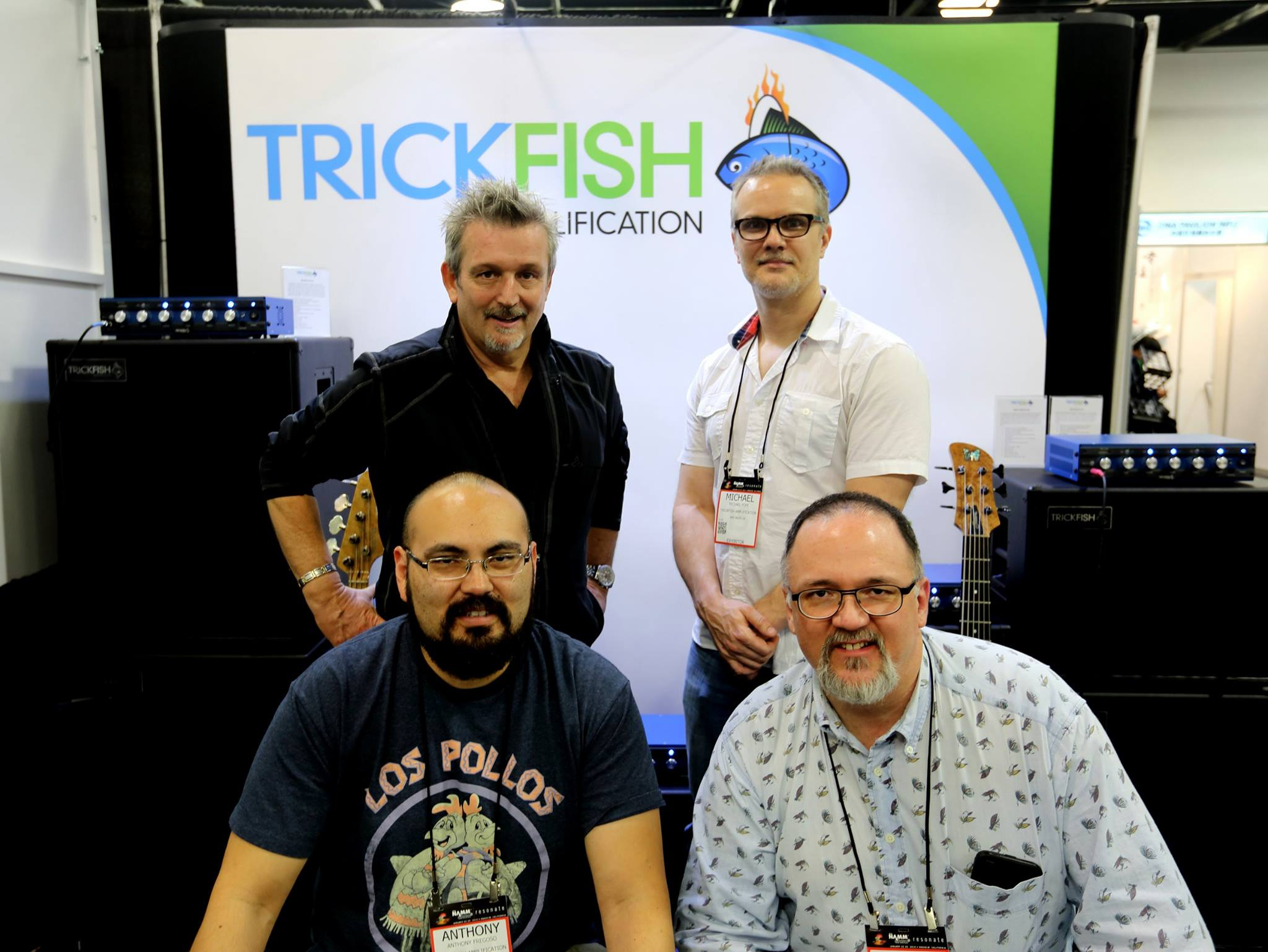 NAMM Trickfish Booth