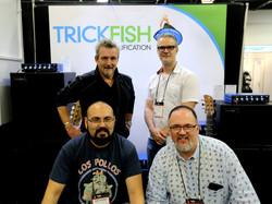 NAMM Trickfish Booth