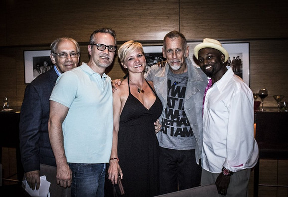 Mike Pope, Lydia Courtney-Pope, Joe Locke, Clarence Penn