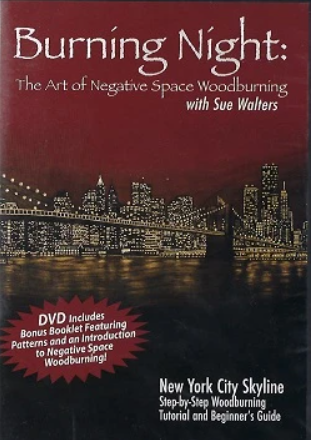 Burning Night: The Art of Negative Woodburning ( DVD )