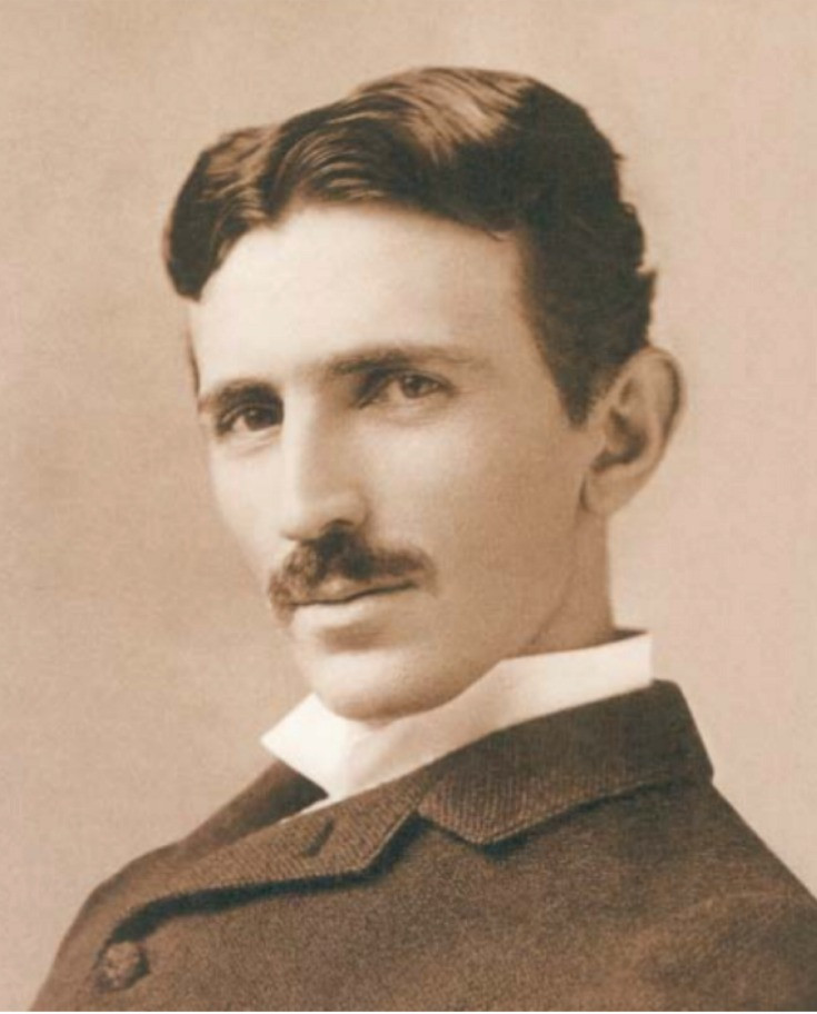 Tesla did some of his finest work at Niagara falls USA