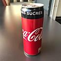 Canette Coca Zero (33cl)