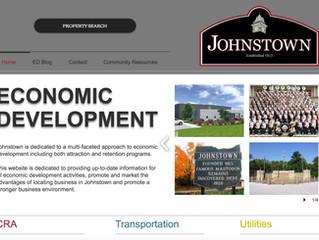 Johnstown Launches New Economic Development Website