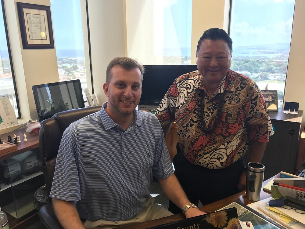 Maui County Mayor Alan Arakawa