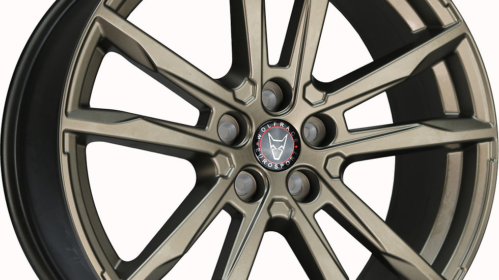 Wolfrace Eurosport Dortmund Bronze Wheel and Tyre Package