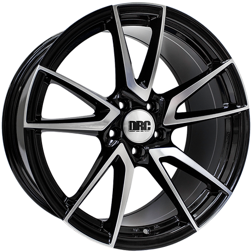 """DRC DLA 19"""" Black Polished Wheel and Tyre Package"""
