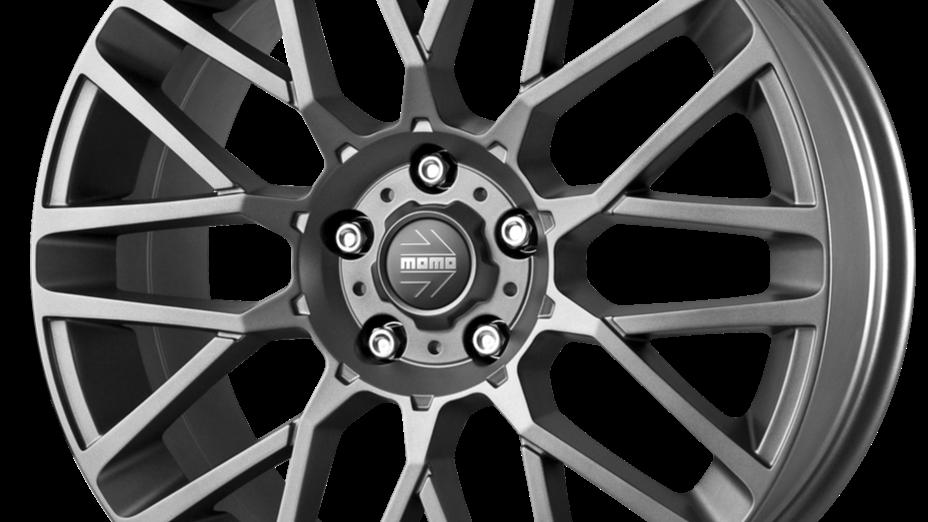 """MOMO Revenge 18"""" Matte Gunmetal Wheel and Tyre Package"""