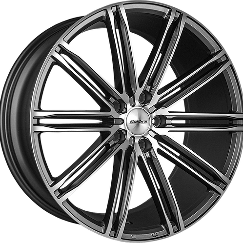 Calibre CC-I Gunmetal Wheel and Tyre Package