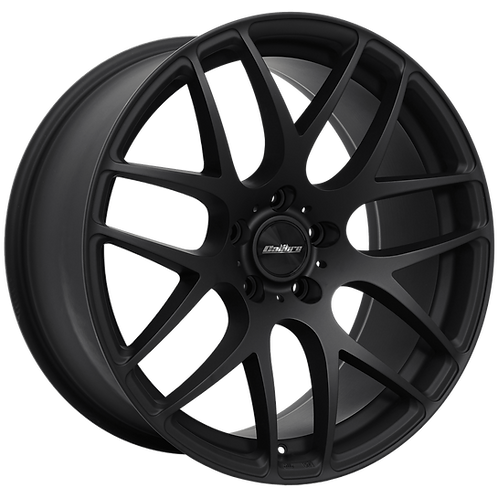 Calibre Exile-R Matte Black Wheel and Tyre Package