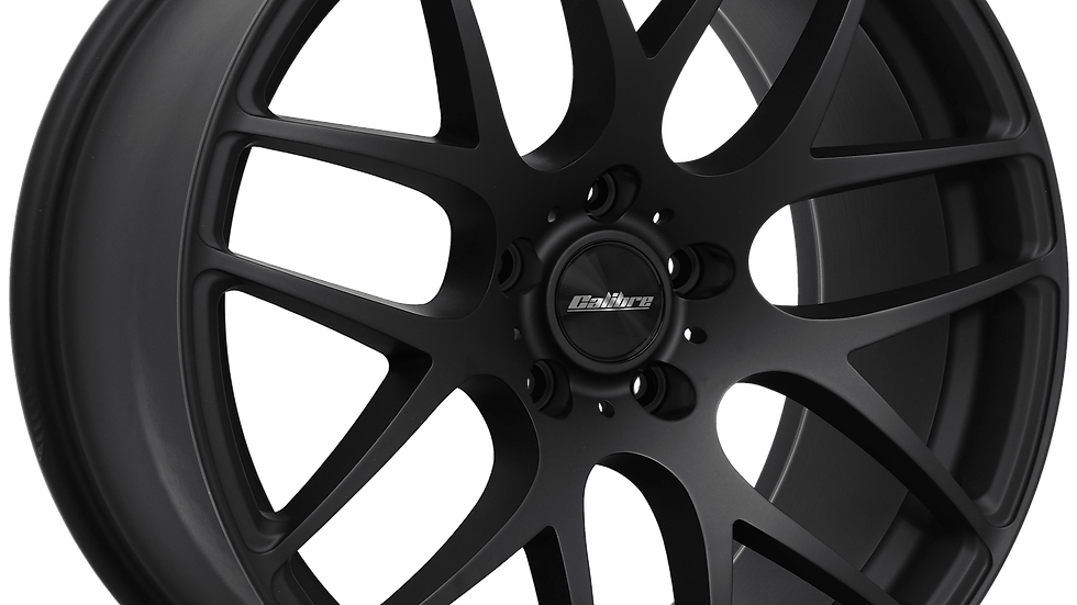 "Calibre Exile-R 18"" Matte Black Wheel and Tyre Package"