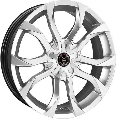 "Wolfrace Eurosport Assassin 18"" Hyper Silver Wheel and Tyre Package"