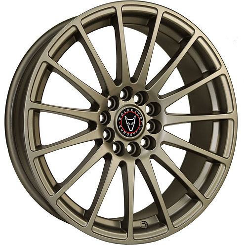 "Wolfrace Eurosport Turismo 18"" Bronze Wheel and Tyre Package"