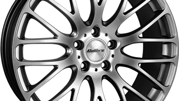 """Calibre Altus 20"""" Hyper Silver Wheel and Tyre Package"""