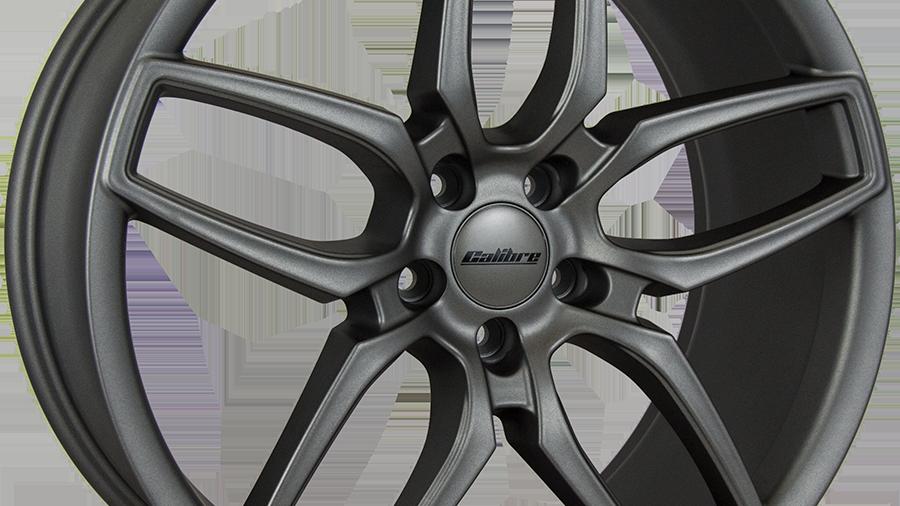 "Calibre CC-U 20"" Matte Gunmetal Wheel and Tyre Package"