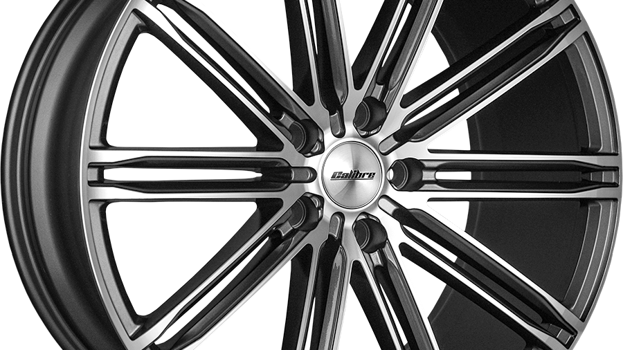 """Calibre CC-I 20"""" Gunmetal Wheel and Tyre Package"""