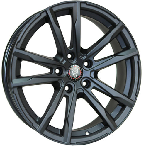 Wolfrace Eurosport Dortmund Matte Black Wheel and Tyre Package