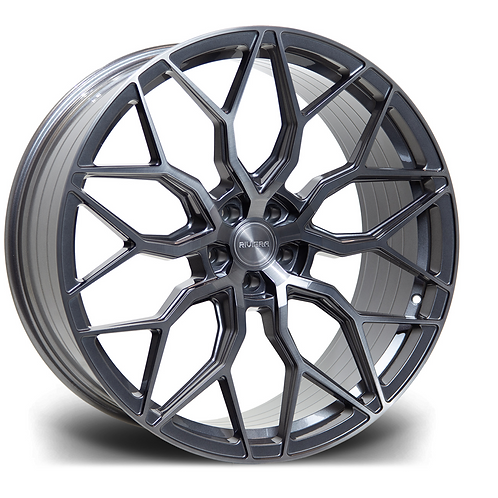 "RIVIERA CARBON GRIGIO RF108 20"" ALLOY + TYRE PACKAGE"
