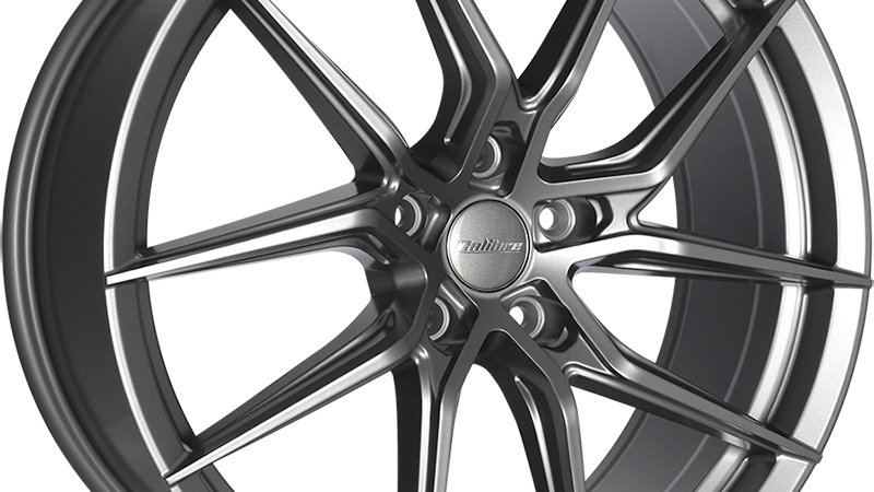 Calibre Verso Matte Gunmetal Wheel and Tyre Package