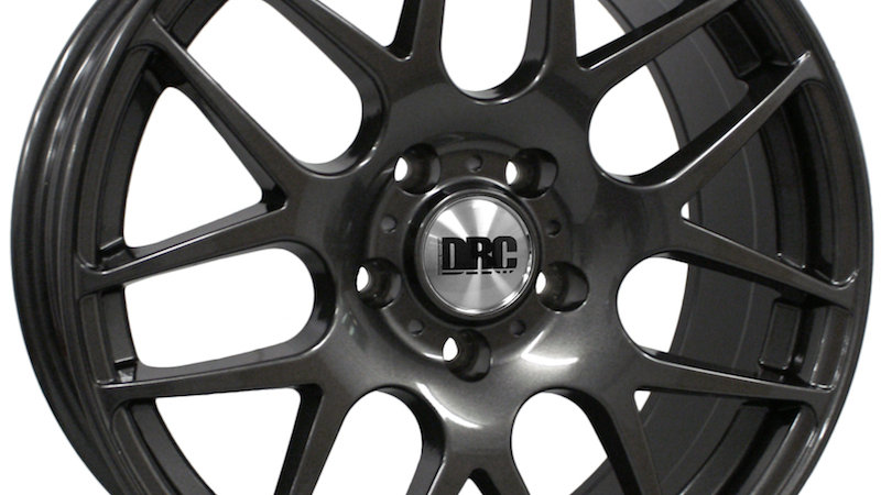 """DRC DRM 18"""" Gunmetal Wheel and Tyre Package"""