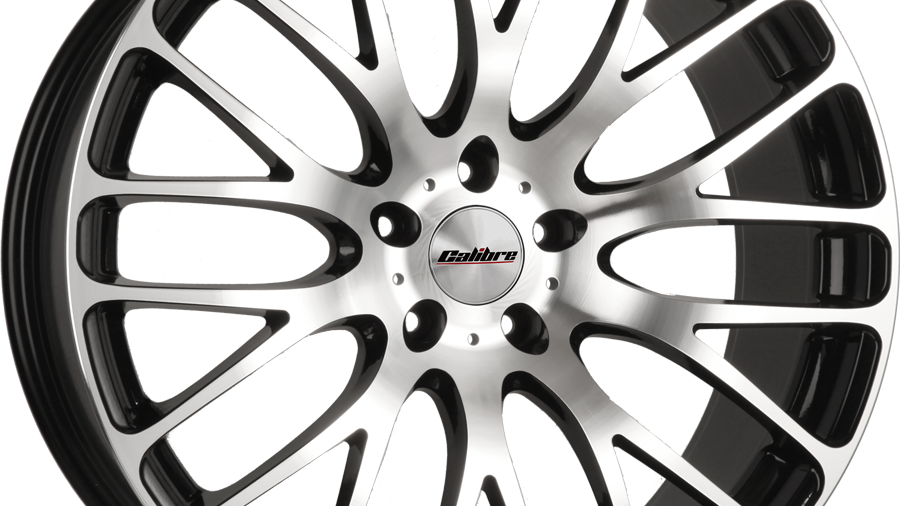"""Calibre Altus 20"""" Black Polished Wheel and Tyre Package"""