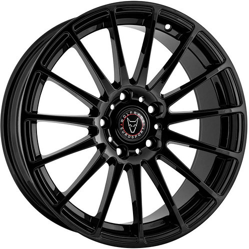 "Wolfrace Eurosport Turismo 18"" Gloss Black Wheel and Tyre Package"