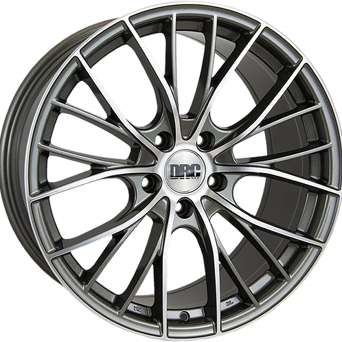 "DRC DMM 19"" Gunmetal Polished Wheel and Tyre Package"