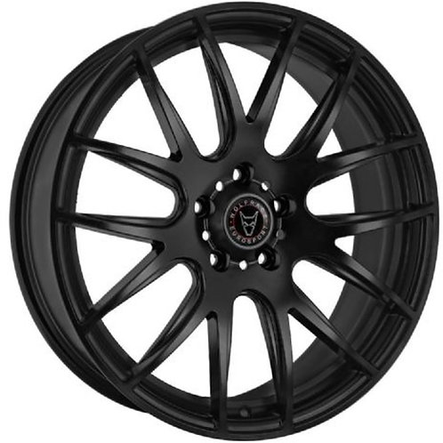 "Wolfrace Eurosport Munich 18"" Matte Black Wheel and Tyre Package"