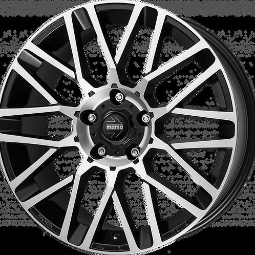 MOMO Revenge Matte Black Polished Wheel and Tyre Package