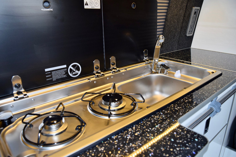 Sink and hob