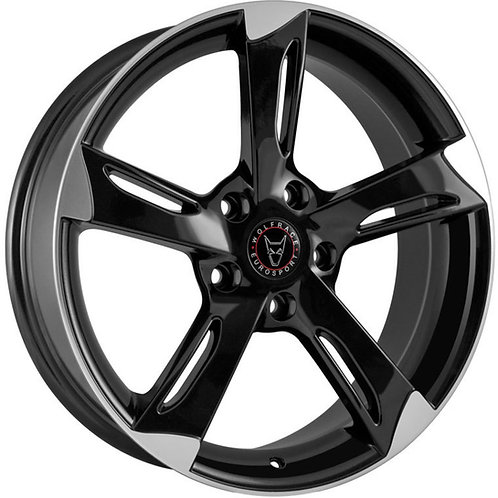 Wolfrace Eurosport Genesis Gloss Black and Polished Wheel and Tyre Package