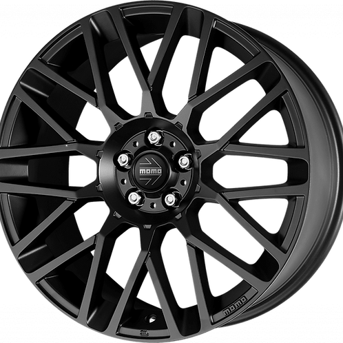 MOMO Revenge Matte Black Wheel and Tyre Package