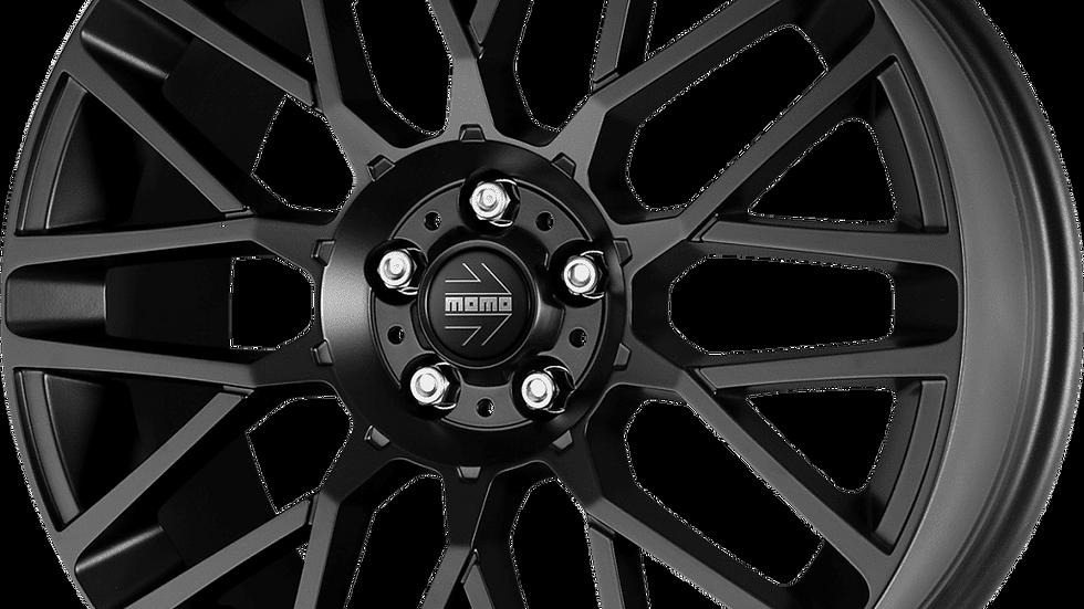 """MOMO Revenge 18"""" Matte Black Wheel and Tyre Package"""