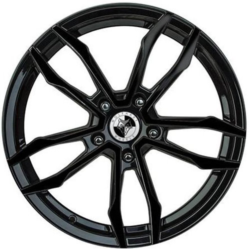 "Wolfhart VT5 18"" Gloss Black Wheel and Tyre Package"