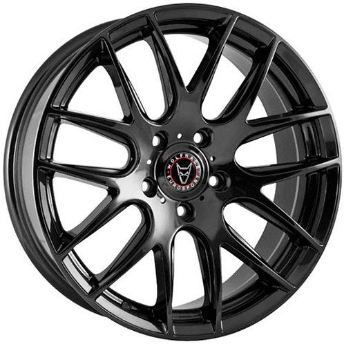 Wolfrace Eurosport Munich Gloss Black Wheel and Tyre Package