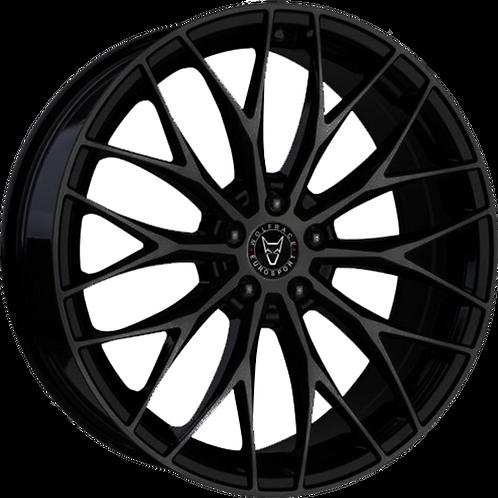 Wolfrace Eurosport Wolfsburg Gloss Black Wheel and Tyre Package