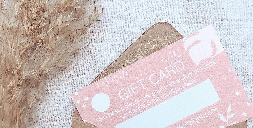 Gift Voucher / Gift Card