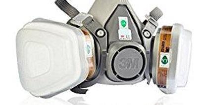3M Maschera Serie 6200 con filtri (compresi) intercambiabil