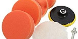 """Kit per lucidatura 180 mm (7"""") M14 per levigatrice lucidatrice elettronica"""