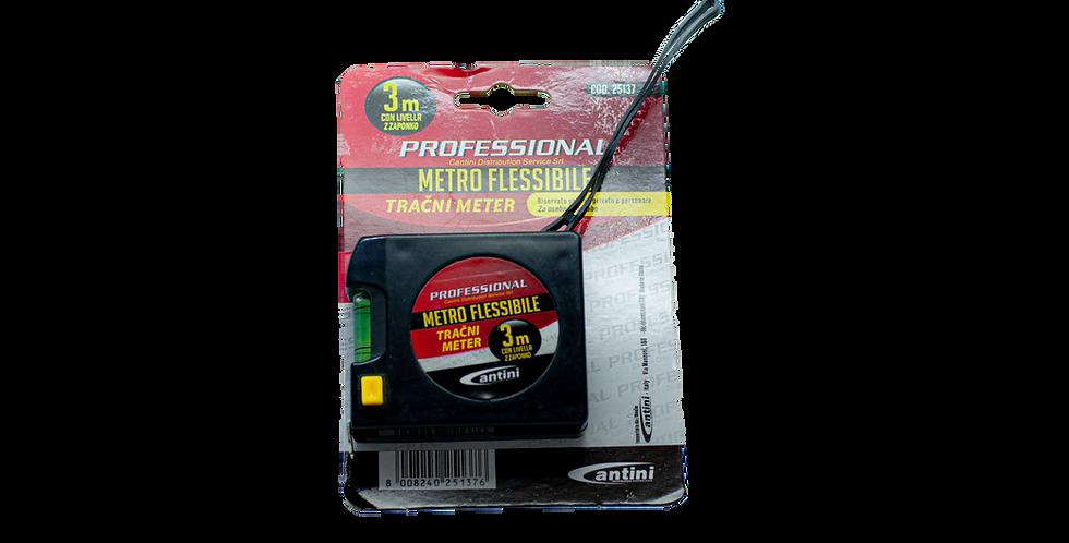 metro flessibile cm/inches 3m